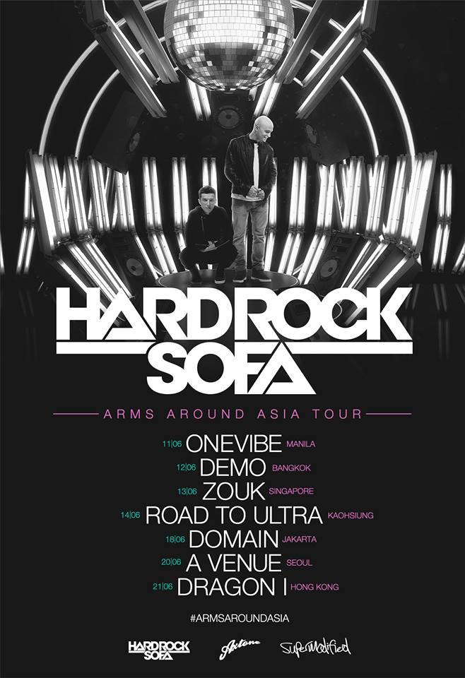HARD ROCK SOFA ASIA TOUR